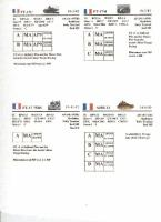 French AFV Cards