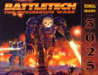 Technical Readout 3025 - The Succession Wars (1st Edition)