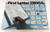 First Letter Trivia