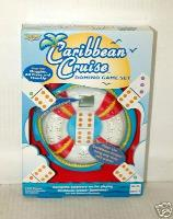 Caribbean Cruise - Domino Game Set