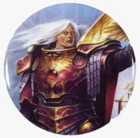 Black Library Celebration 2018 Button - Fulgrim