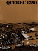 Quebec 1759 (1st Edition, 2nd Printing)
