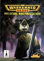 Citadel Miniatures Catalog 1997 (Warhammer 40,000)
