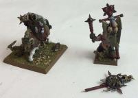 Chaos Lord & Standard Bearer #1