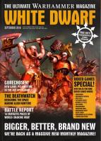 "#1 ""Bigger, Better, Brand New, The Deathwatch, Gorechosen!"" w/Slaughterpriest"