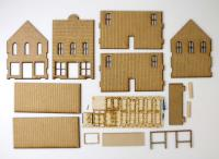 Old West Two Story Building Collection #1