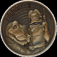 Gordito Challenge Coin