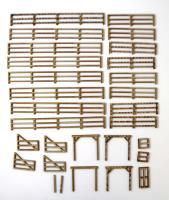 Corral Fences & Gates Collection #1