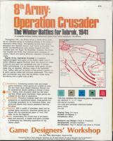 8th Army - Operation Crusader