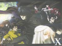 X/1999 - Main Characters Wall Scroll