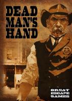 Dead Man's Hand Rulebook w/Cards