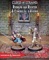 Rudolph Van Richten & Ezmerelda D'Avenir (Limited Edition)