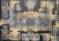 "30"" x 20"" Vinyl Game Mat - Draconic Monastery"