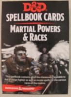 Spellbook Cards - Martial Powers & Races (2nd Edition)