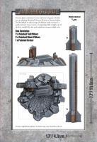 Gothic Industrial Pillars