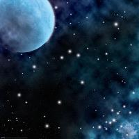"36"" x 36"" Vinyl Game Mat - Ice Comets/Fiery Nebula"
