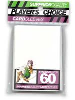 Standard Card Sleeves - White (60)