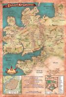 Eleven Kingdoms - A Poster Map of the Deryni World