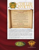 7th Edition Guide to Cthulhu Invictus, The