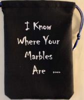 "Black Marbles (5"" x 7"")"