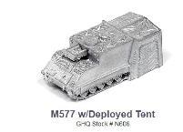 M577 w/Deployed Tent
