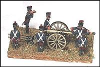 12 Pound Artillery Section - Foot