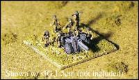 Individual Germany Artillery Crewmen