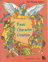 Basic Character Creation