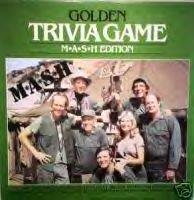 Golden Trivia Game - MASH Edition