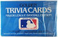 Trivia Cards - Major League Baseball Edition
