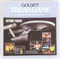 Golden Trivia Game - Star Trek Edition
