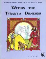 Within The Tyrant's Demesne