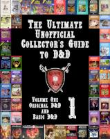 Volume #1 - Original D&D and Basic D&D