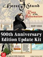 Here I Stand - Upgrade Kit (500th Anniversary Edition)