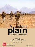 Distant Plain, A - Insurgency in Afghanistan (3rd Edition)