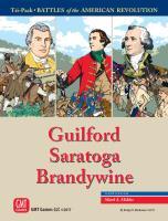 American Revolution Tri-Pack (Guilford, Saratoga, and Brandywine)