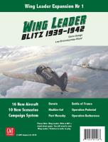 Wing Leader Blitz 1939-1942 - Expansion #1