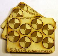 Fatigue Markers - Round Shields, MDF