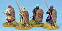 Berber Spearmen - Advancing w/Hippo Shields
