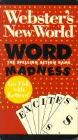 Webster's Word Madness