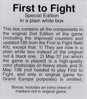 First to Fight (2nd Edition, Plain White Box Edition)