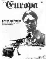 "#15 ""Enter Rommel Scenario, Strategy in Western Desert"""