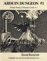 Arduin Dungeon #1 - Caliban (1st Printing)