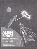 Alien Space Battle Manual (1st Edition, 4th Printing)