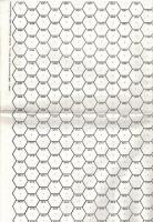 """Hex Sheets - 2.2"""" & 20mm (6)"""