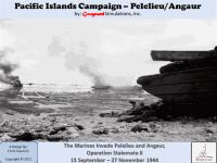 Pacific Islands Campaign - Pelelieu/Angaur