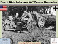 Death Ride Salerno - 29th Panzer Grenadier