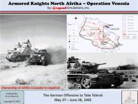 Armored Knights North Africa - Operation Venezia