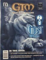 "#113 ""Geist - The Sin-Eaters, Jedi Academy Miniatures, Arcane Legions Miniatures Game"""