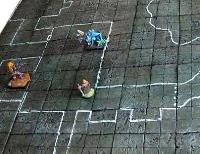 Dungeon Mat - Stone Grey